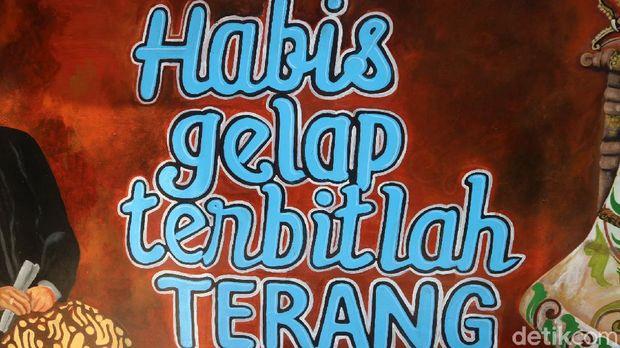 Mural di Museum Kartini Jepara