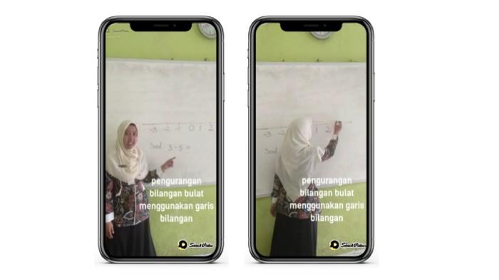 Noviantik Karolina,  guru  SD Negeri 6 Klampok, Banjarnegara, Jawa Tengah