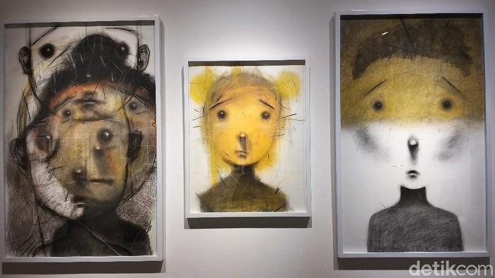 Pameran Tunggal Iwan Effendi Berjudul Daydreaming Face di RUCI Art Space, Blok M, Jakarta Selatan.