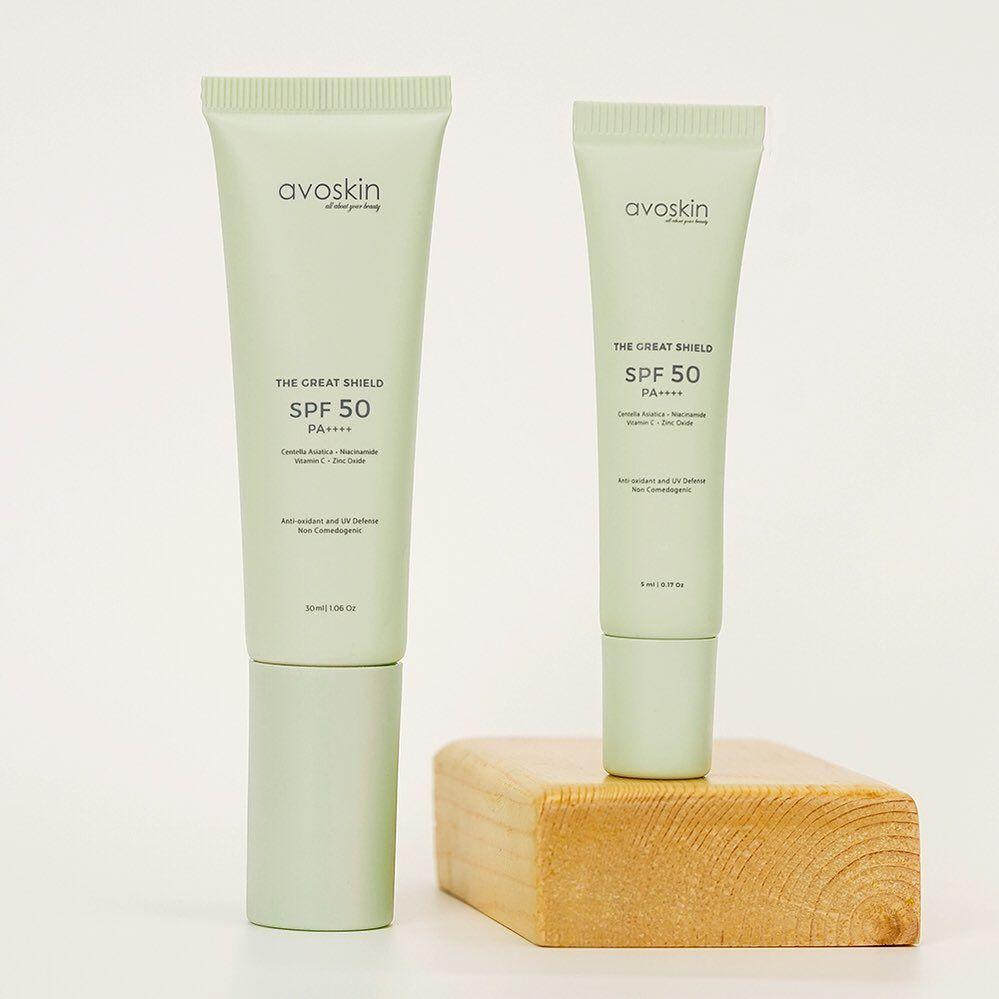 Sunscreen dengan Kandungan Skincare