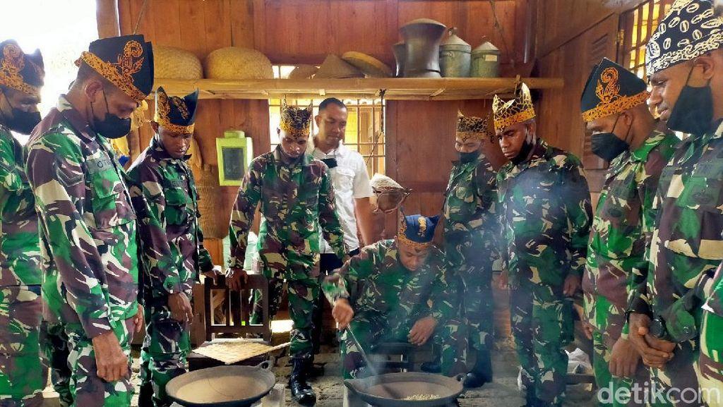 11 Anggota TNI Asal Papua Diajak Belajar Mengolah Kopi di Banyuwangi