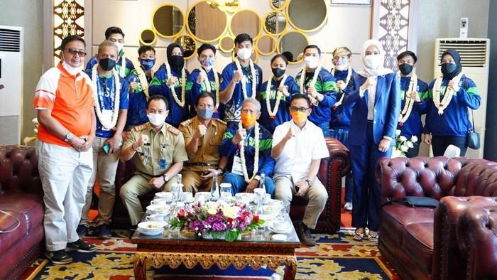 Tim Anggar PON 2020 Sumatera Selatan