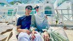 Tatapan Mesra Alvin Faiz dan Henny Rahman saat Honeymoon Labuan Bajo
