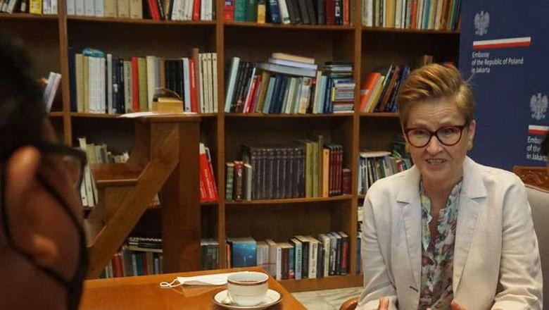 Duta Besar Polandia untuk Indonesia Beata Stoczynska
