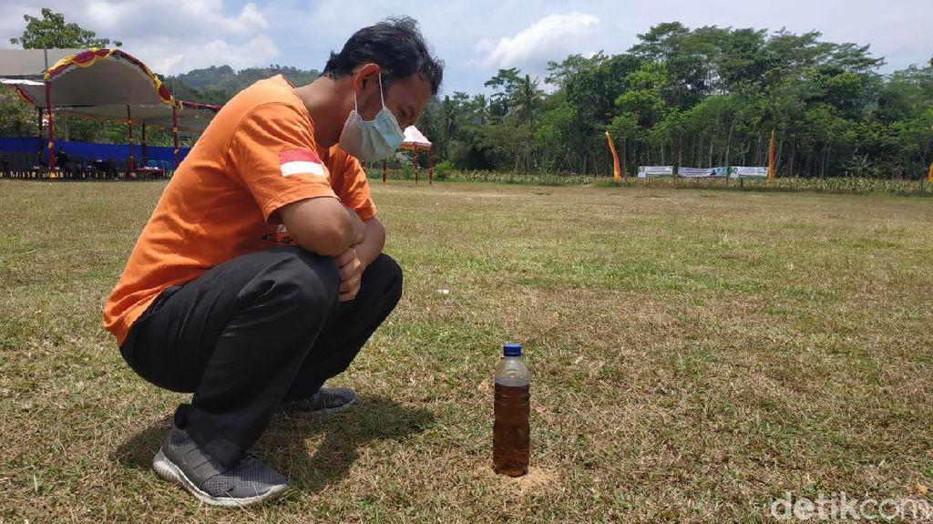 Hari Tanpa Bayangan di Pacitan Diwarnai Gempa M 4,8