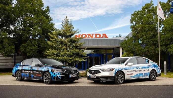 Honda baru saja melakukan uji coba mobil otonom pada Level 3 dan Level 4