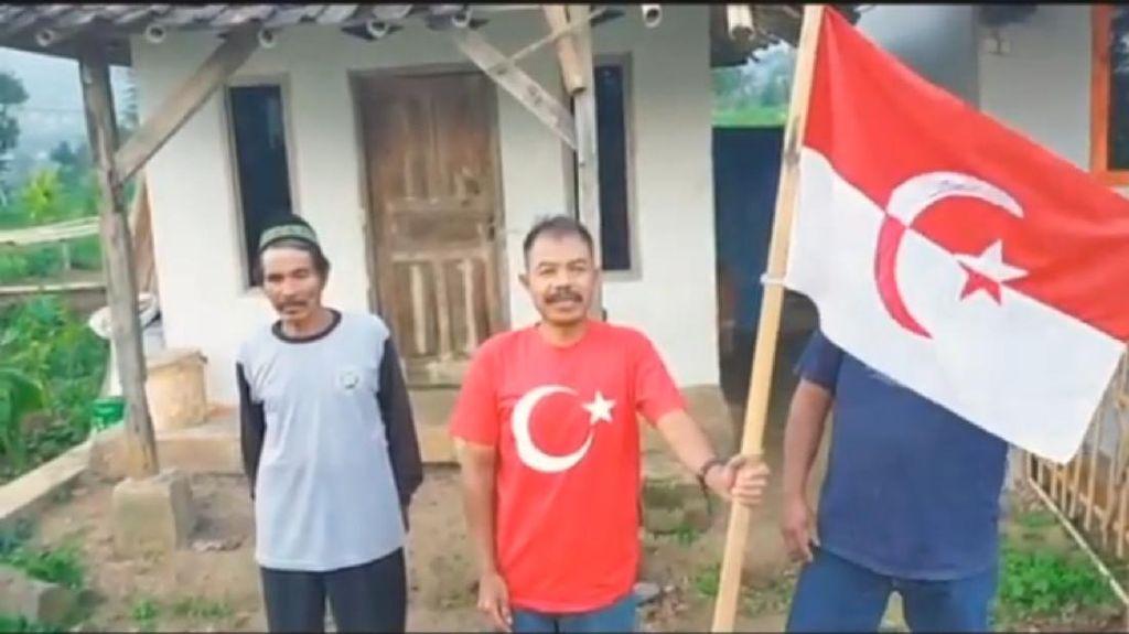 Polisi Selidiki Aksi Panglima Jenderal Kibarkan Bendera NII di Garut