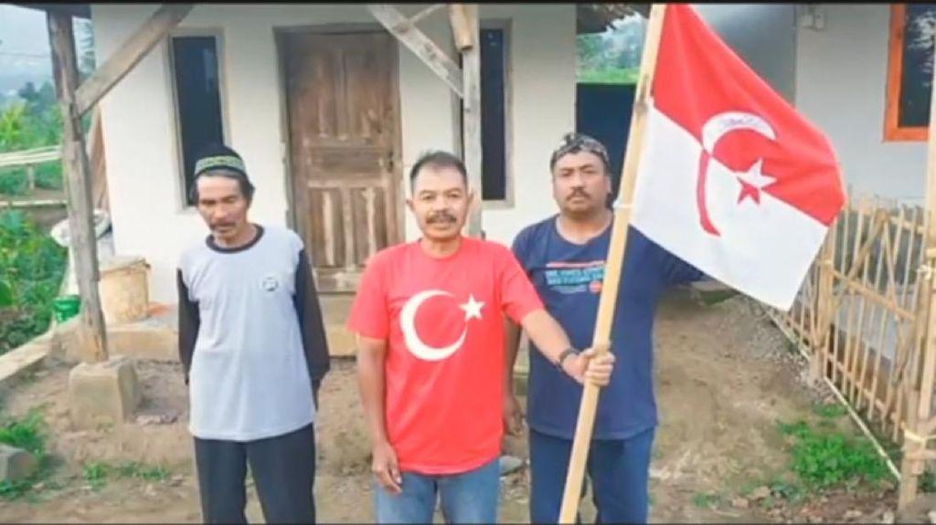 Ini Foto-foto Panglima Jenderal Kibarkan Bendera NII yang Geger di Garut