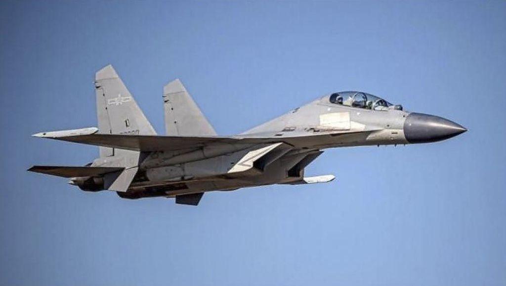 China Soal Pengerahan Puluhan Jet Tempurnya ke Taiwan: Jaga Kedaulatan!