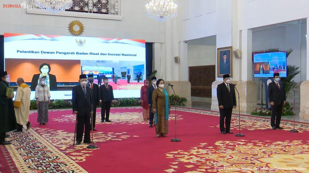 Sudhamek hingga Sri Mulyani Jadi Dewan Pengarah BRIN, Ketuanya Megawati