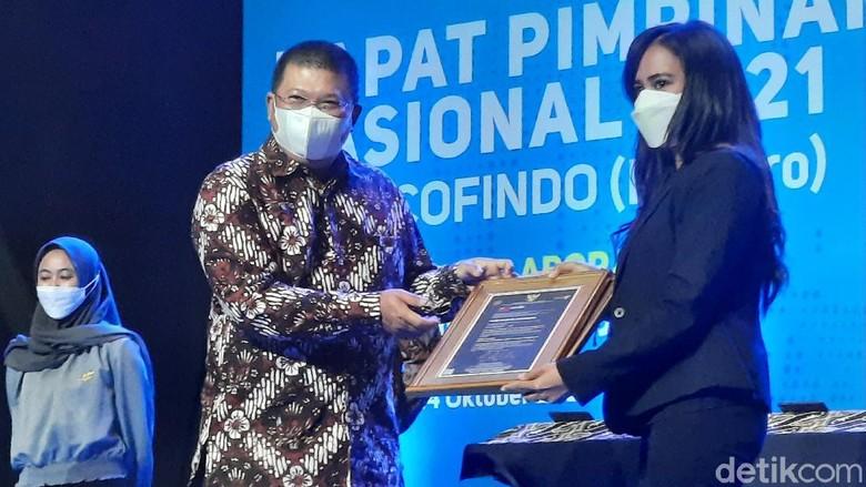 Rapat Pimpinan Nasional PT Sucofindo 2021 di Yogyakarta, Rabu (13/10/2021).