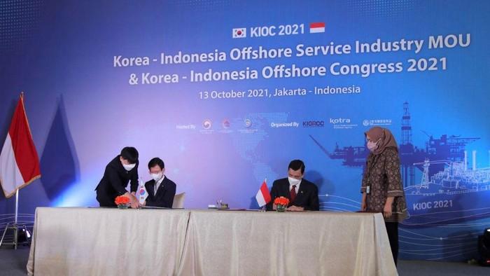 Menko Luhut bertemu Menteri Samudera dan Perikanan Korea Selatan