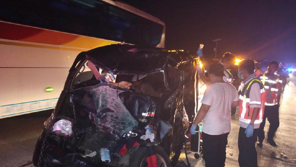 Kecelakaan di Tol Cipali, Satu Tewas dan 9 Luka-luka