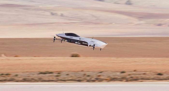 Mobil balap terbang Airspeeder MK3