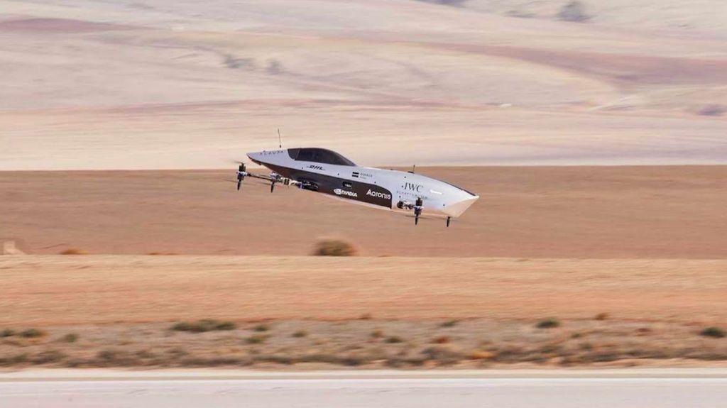 Mobil Balap Terbang Pertama di DuniaAirspeeder Mk3 Mulai Uji Coba Balapan