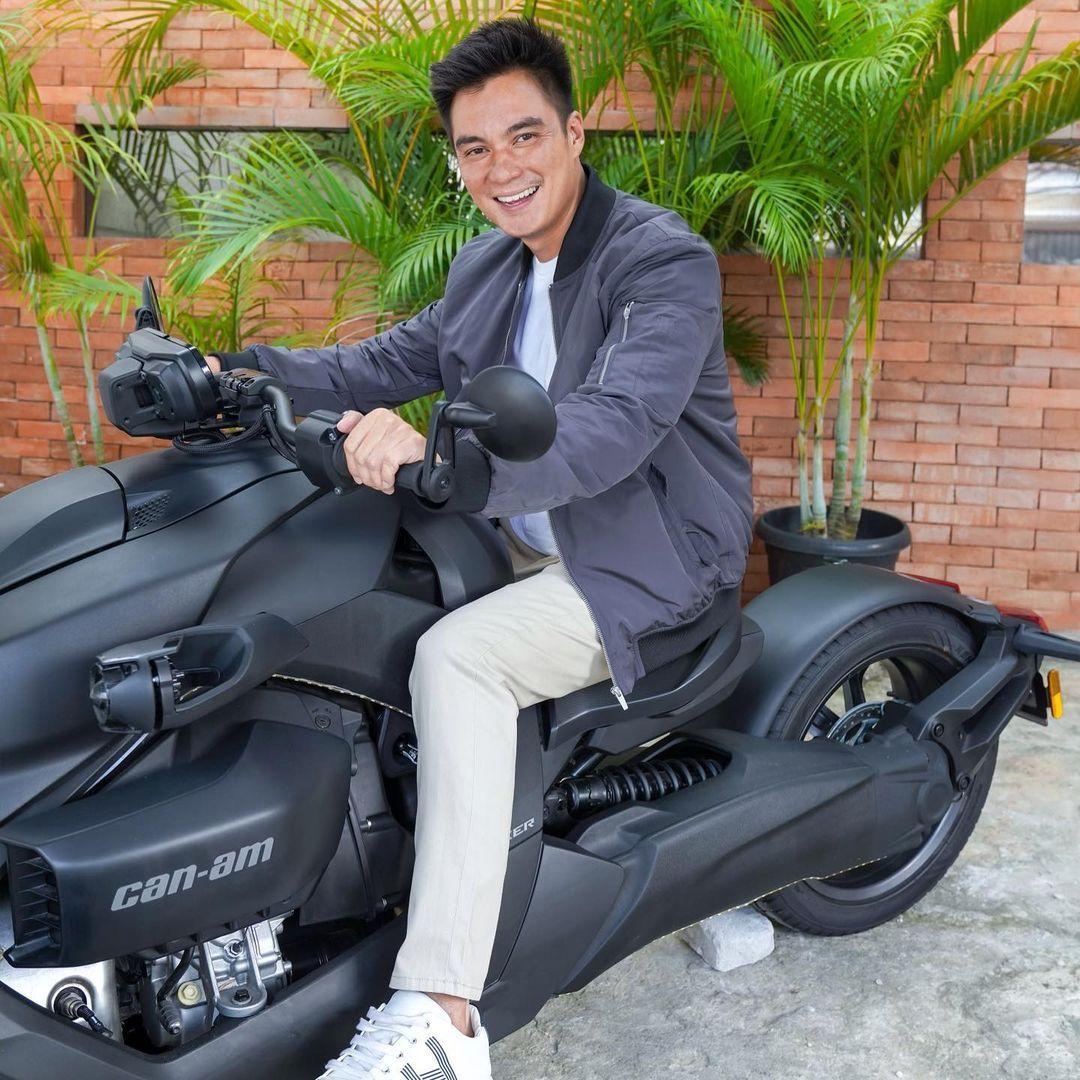 Motor roda tiga Can-Am Ryker yang dinaiki Baim Wong