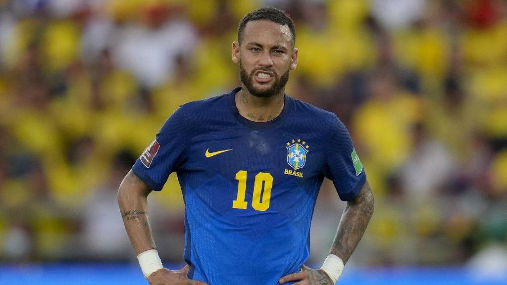 Neymar Dituding Tak Punya Daya Juang Usai Bilang Mau Pensiun dari Timnas