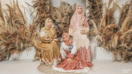 10 Gaya Oki Setiana Dewi, Shindy & Ria Ricis, Kakak Adik Pesonanya Bikin Adem
