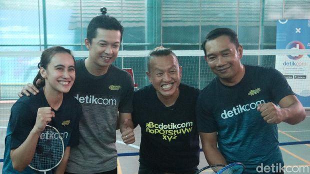 Ridwan Kamil, Bellaetrix Manuputty, Taufik Hidayat, Sandy Pas Band, olahraga detik ini juga