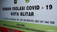 Efektifkan Anggaran, Lokasi Isolasi Pasien COVID-19 di Blitar Dikosongkan