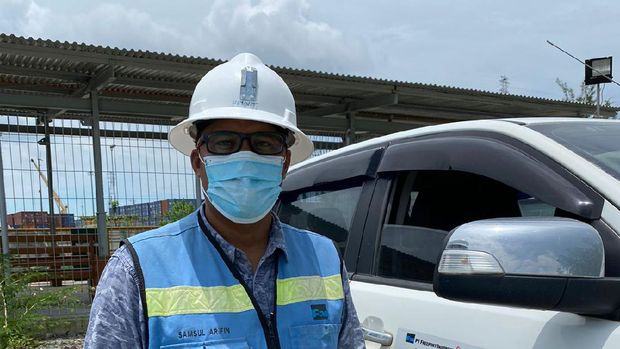 Samsul Arifin,  superintendent WSS & GMTC Lowland PT Freeport Indonesia