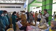 Pemprov Kalteng Suntikkan 500 Dosis Vaksin ke Pelajar-Warga