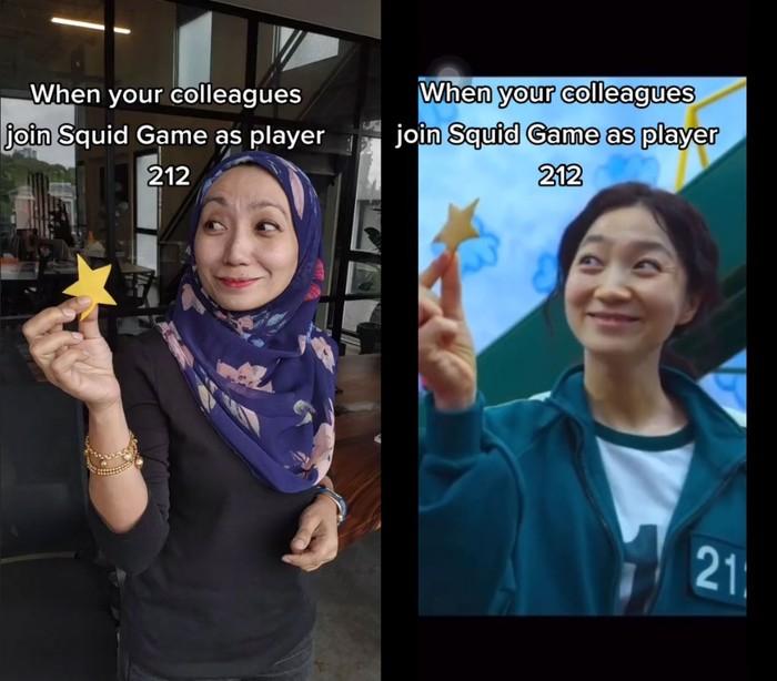 Wanita Mirip Han Mi Nyeo Squid Game