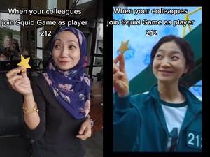 Viral Hijabers Mirip Pemain 212 di Drama Squid Game, Di-notice Sang Aktris