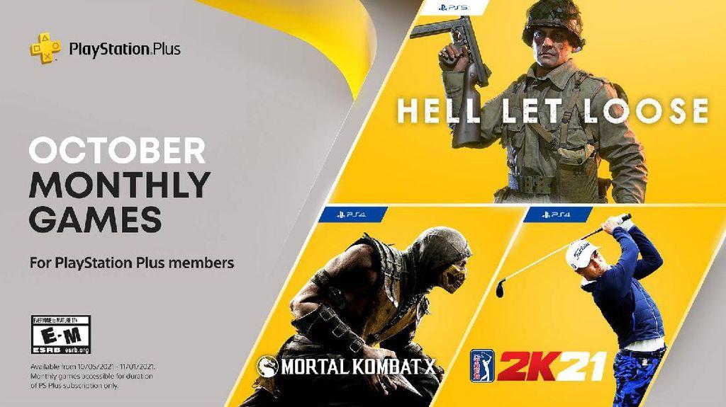 3 Game Gratis PlayStation Plus Oktober 2021