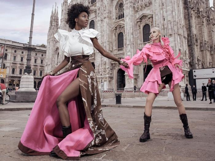Batik Durian Lubuklinggau di Milan Fashion Week (Foto: Dok. JYK)