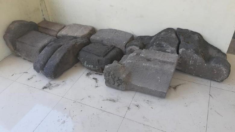 Benda yang dievakuasi ke kompleks monumen juang 45 Klaten