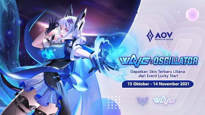 Dapatkan Skin Keren Liliana di Event Lucky Star Arena of Valor