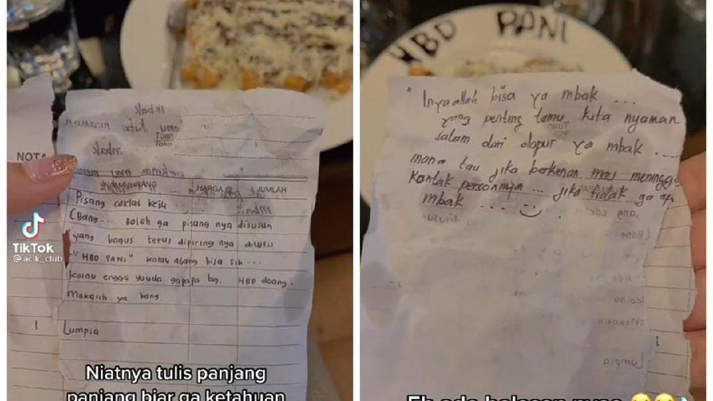 Minta Dituliskan HBD, Netizen Ini Malah Diajak Kenalan Pegawai Kafe