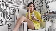 10 Potret Crazy Rich Agnes Jennifer Saat Hangout di Kafe