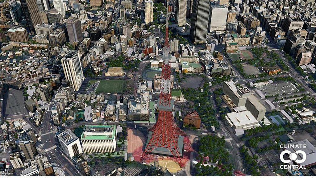 Gambaran Seram Kota Besar Dunia Tenggelam Tahun 2050
