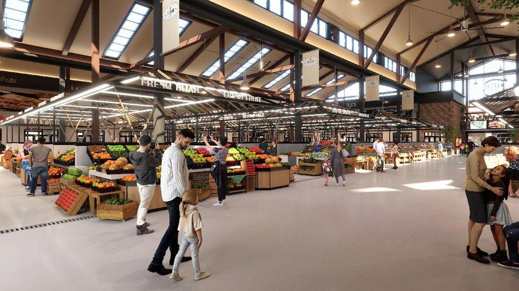 Keren! Pasar Modern Bakal Hadir di Sawangan