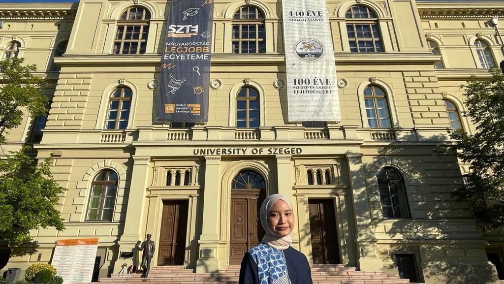 Rahasia Latissa, Mahasiswi Unair Kuliah Gratis di Kampus Nomor Satu Hungaria