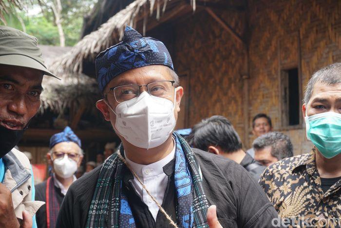 Menkes Budi Gunadi Sadikin di Banten