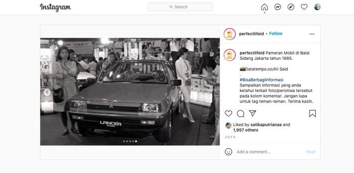 Pameran otomotif 1985 di Indonesia