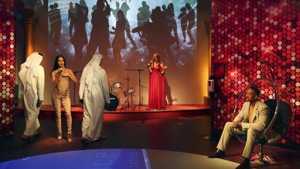 Tak hanya pemimpin dunia, Madame Tussauds Dubai juga memamerkan patung lilin para bintang Holywood, salah satunya aktor Will Smith.