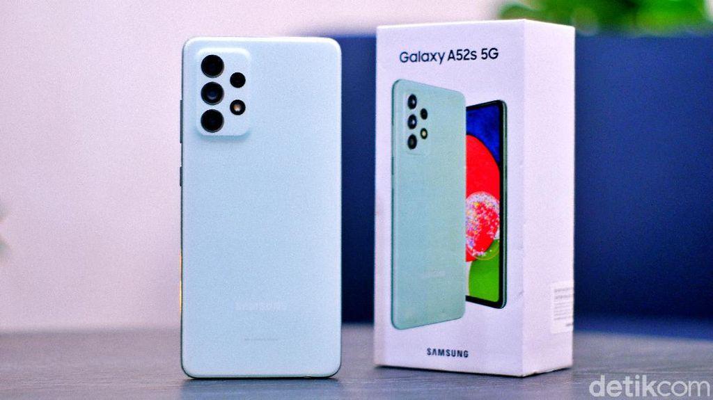Unboxing Samsung Galaxy A52s 5G, Spesifikasi Sip Harga Rp 6 Jutaan