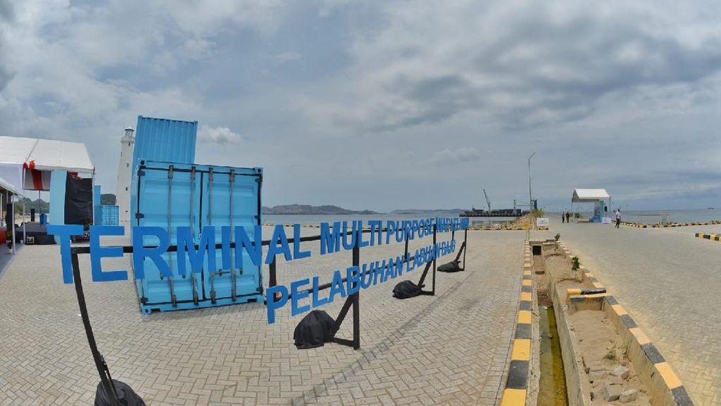 Dibangun Agustus 2020, Terminal Multipurpose Wae Kelambu Diresmikan