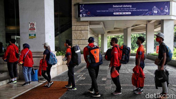 Pulang dari PON Papua, Atlet DKI Dikarantina