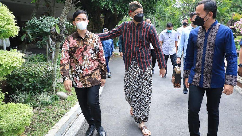 Bima Arya dan Gibran Temui Ganjar di Semarang, Bahas Apa?