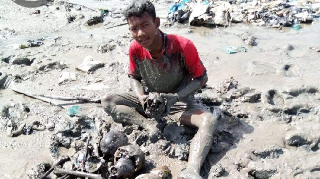 Tulang Manusia Ditemukan Berserakan di Lahan Mangrove Rohil Riau