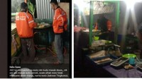 Tak Sabar Nunggu, Driver Ojol Ini Masak Sendiri Makanan Pesanan Pembeli