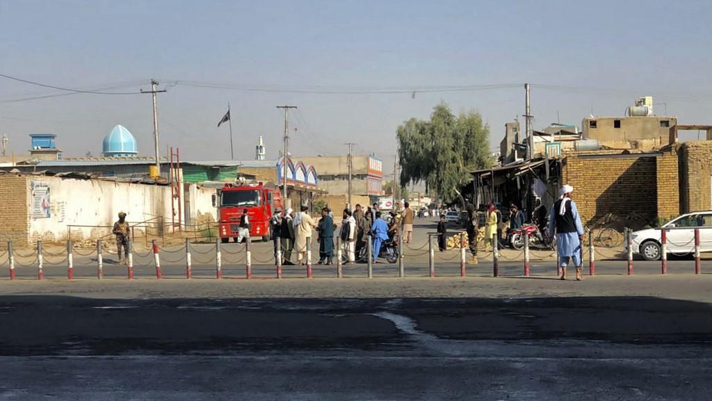 Serangan Bom Masjid Afghanistan Dilakukan Pembom Bunuh Diri ISIS