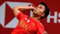 Piala Thomas: Anthony Ginting Kalah, Indonesia 0-1 Denmark