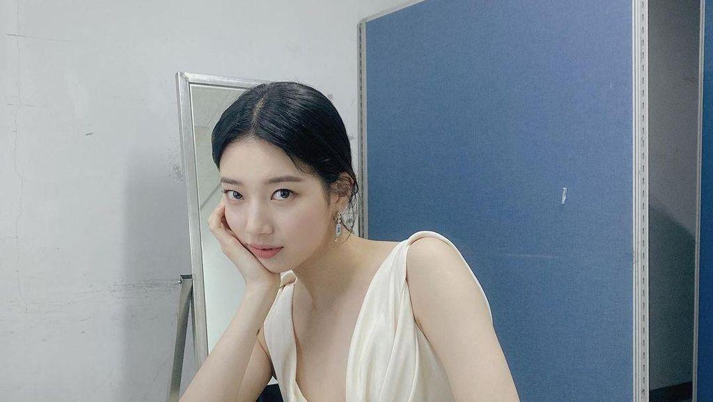 Heboh! Bae Suzy Dapat Kado Indomie Goreng dari Penggemarnya