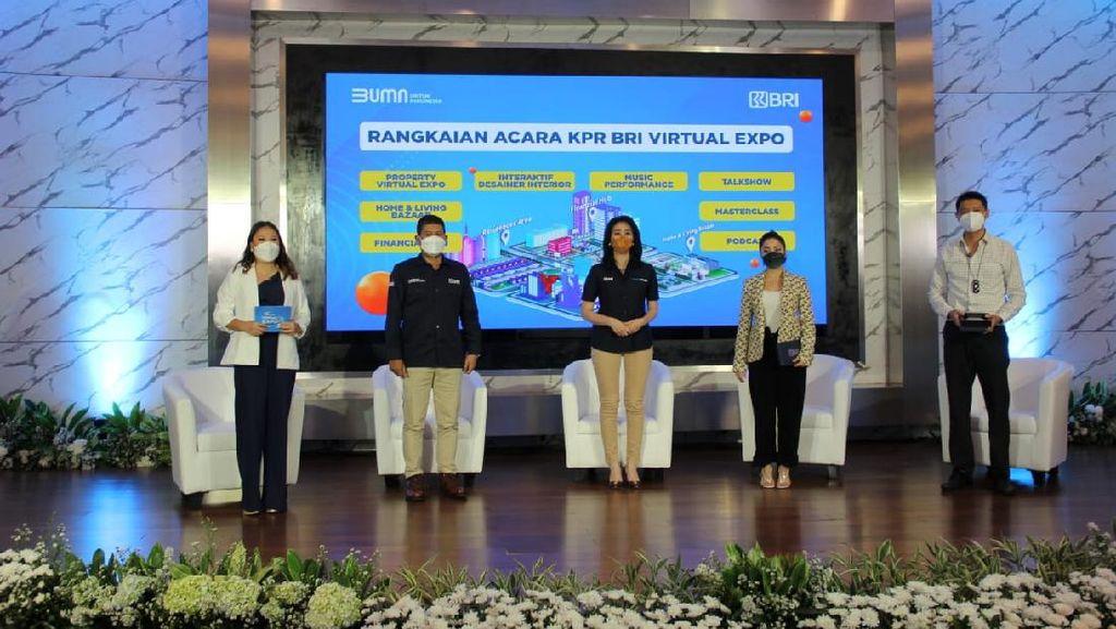 KPR BRI Virtual Expo Vol.2 Mudahkan Milenial Punya Rumah